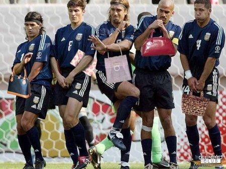 Самая гламурная футбольная команда!