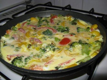 Рецепты от Наруто. Овощной омлет « Подземный воин»