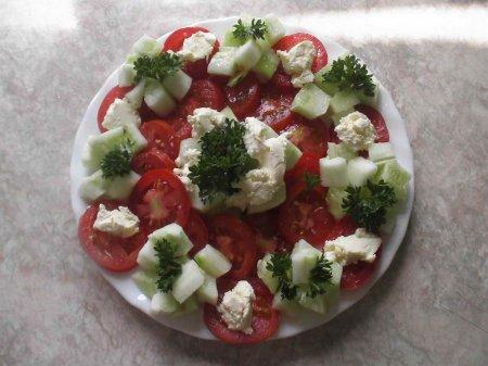 Рецепты Винкс. Салат овощной от Флоры