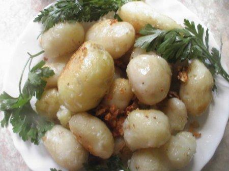 """Рецепты от Наруто . Молодая картошка """" Бой с Забузой"""""""