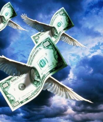 Крылатыми бывают не только фразы, но и деньги