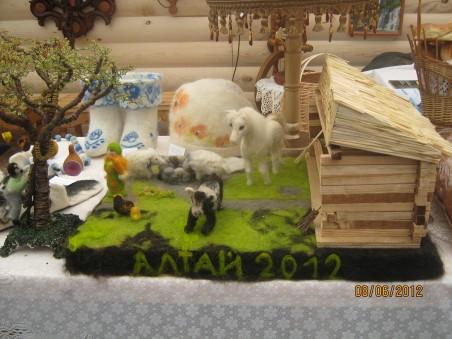 Моя ферма из овечьей шерсти