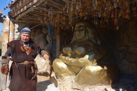 отдых на Алтае, Золотая баба, паломничество к шаманам