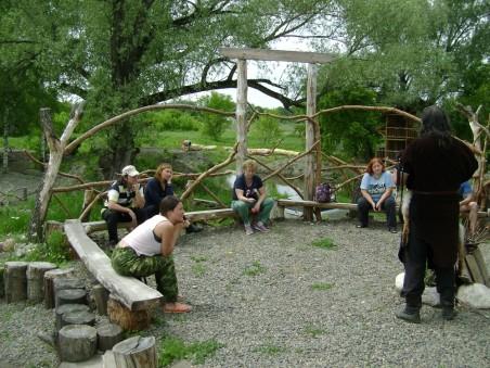 отдых на Алтае, встреча с шаманом Артемом