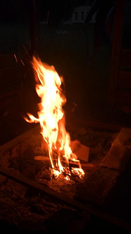 стихия огонь, чистка огнем