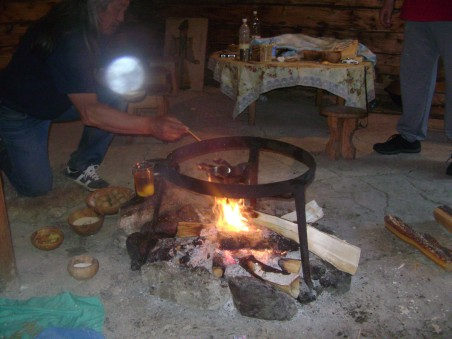 церемония огня, туры на Алтай