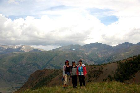 горы Алтая вершина